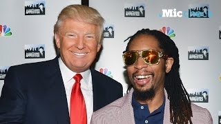 Rap artists are not happy with Donald Trump | Mic Check