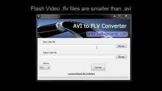 AVI to FLV Converter