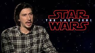 Star Wars: The Last Jedi Interview - Adam Driver