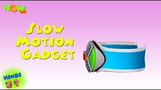 Slow Motion Gadget - Motu Patlu in Hindi - 3D Animation Cartoon for Kids -As seen on Nickelodeon