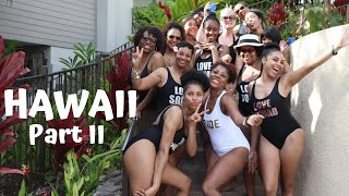 Hawaii...the Wedding! l Travel Vlog l Part II