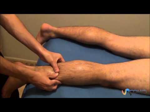 Técnicas para masajes de gemelos