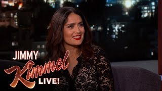 Salma Hayek Always Has a Mexican Kitchen