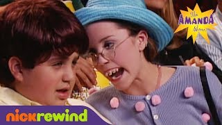 Courtney at the Movie Theater | The Amanda Show | NickSplat