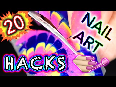 20 DIY Nail Art Hacks you NEED IN YOUR BRAIN