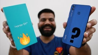 Honor 8X Unboxing & First Look - Full Screen | AI | Kirin 710 and More   🔥🔥🔥