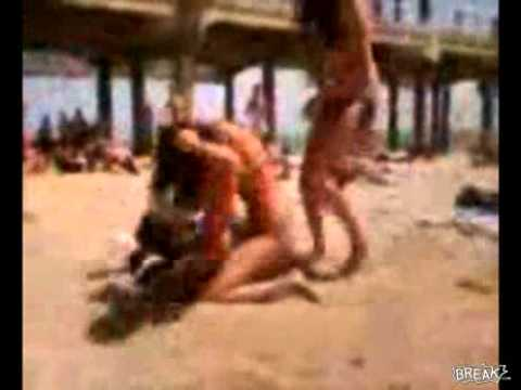 College Girls In Swimsuits Fighting 2013