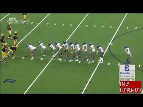 Best Highschool Football Trick Plays