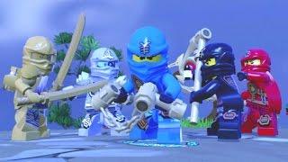 LEGO Dimensions - All 7 Ninjago Characters + Free Roam Gameplay (Ninjago Adventure World)