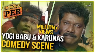 Yogi Babu & Karunas Comedy Scene  - Enakku Innoru Per Irukku | G.V. Prakash Kumar | Sam Anton