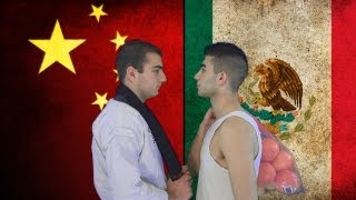 Mexico vs. China | Immortal Rap Battles Of Nations #4