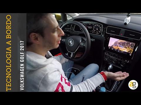 EXP Volkswagen GOLF 2017 la Tecnologia di bordo.