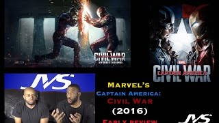 Marvel's Captain America: Civil War (2016) | EARLY MOVIE REVIEW (Spoiler Free!)