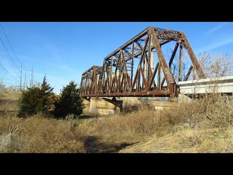 UP Midwestern Double Truss Railroad Bridge