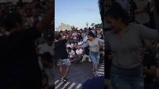 رقص پسر افغان ودختر عربی که استرالیایی ها را حیرت زده کرد