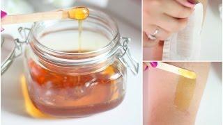 DIY Wax Hair Removal | Sugaring Wax