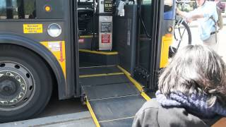 Public Bus with disabled accessibility in Seattle