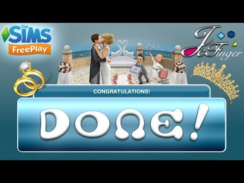 Xxx Mp4 The Sims FreePlay 💍 COMPLETED WEDDING EVENT 💍 3gp Sex