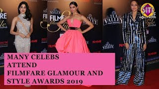 Many celebs attend Filmfare glamour and style awards 2019