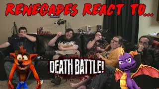 Renegades React to... Death Battle - Crash vs. Spyro