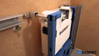Duofix UP200 H82 h) concealed cistern installation in Prewall