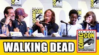 THE WALKING DEAD Comic Con 2016 Panel Highlights Part 1 - Norman Reedus, Andrew Lincoln