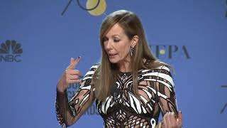 Allison Janney - 2018 Golden Globes - Full Backstage Speech