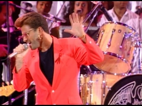 George Michael & Queen - Somebody To Love 1992 Live