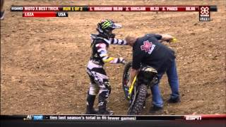 2012 X-Games 18 motocross best tricks