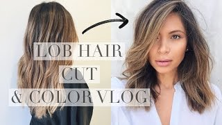 LOB & BALAYAGE CUT AND COLOR