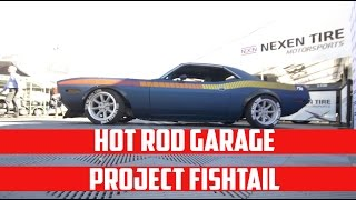 Hot Rod Garage Project Fishtail Cuda Walk Around with Tony Angelo