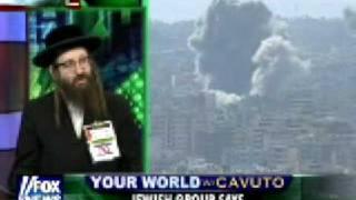 Fox interview with Rabbai Yisroel Weiss