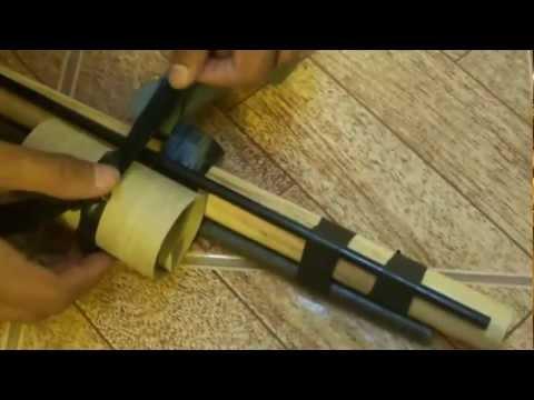 Como Hacer un Arma Casera Facil y Potente HD