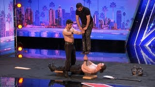 America's Got Talent 2017 Most Dangerous Audition Ever The Azeri Brothers Full S12E02