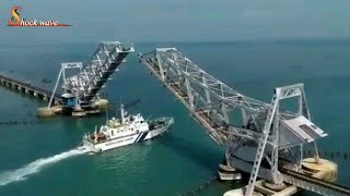 pamban bridge rameshwaram | world