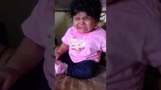 Baby cute reaction for Ammadu let's do kummudu song