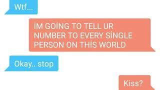 BTS (Jimin FF) - TEXTING - Crazy Fan Finds Jimin's Number