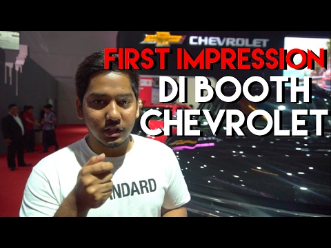 FIRST IMPRESSION DI BOOTH CHEVROLET IIMS 2017 | CARVLOG 017 (INDONESIA)