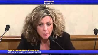 Barbara Lezzi una voce della verita del M5S