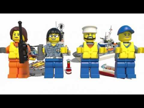 LEGO® City Coast Guard - 60167 Coast Guard Head Quarters