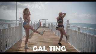 Konshens - Gal Ting - Blacklight Riddim dancehall choreo by Vaiva