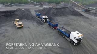 Janssons Entreprenad i Björketorp AB - Scania R560 & R520