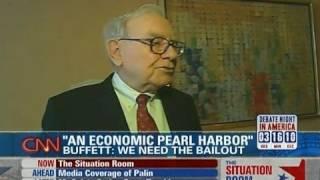"Warren Buffet: This Is An ""economic Pearl Harbor"""