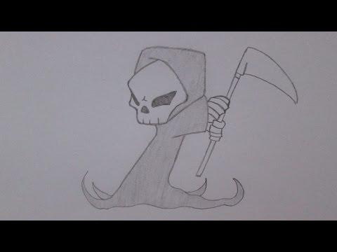 Como desenhar a Morte