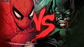 Homem-Aranha VS. Batman | Duelo de Titãs Part. Tauz