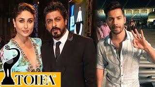 TOIFA 2016 Red Carpet | Shahrukh Khan, Kareena Kapoor, Varun Dhawan