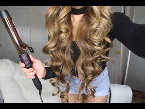 Xxx Mp4 How To Get BIG SEXY CURLS Tutorial Bombay Hair Rose Gold Clamp Curling Wand 3gp Sex