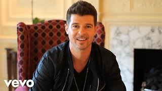 Robin Thicke - Twitter Takeover