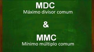 Calculando mmc e mdc