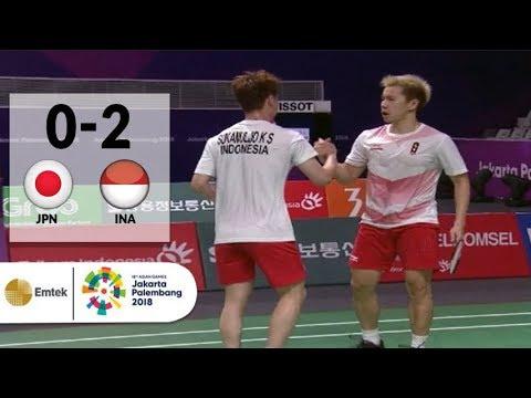 Xxx Mp4 GOKIL Gideon Sanjaya Meratakan Jepang Di Semifinal Badminton Beregu Putra Asian Games 2018 3gp Sex